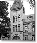 Indiana University Kirkwood Hall Metal Print by University Icons