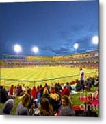 Indianapolis Indians Metal Print by David Haskett