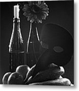 Indoors Relation Metal Print by Marcio Faustino