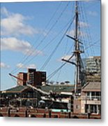 Inner Harbor At Baltimore Md - 12128 Metal Print by DC Photographer