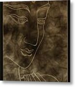 Inner Self Peace Metal Print by Aixa Rios
