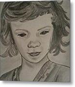 Innocence Metal Print by Nandini  Thirumalasetty