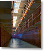 Inside Alcatraz Metal Print by James O Thompson