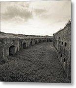 Inside Fort Macomb Metal Print by David Morefield