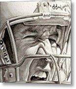Intensity Peyton Manning Metal Print by Tamir Barkan