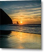 Into The Blue II Metal Print by Marco Oliveira