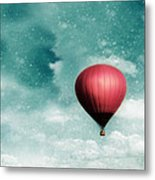 Into The Night Metal Print by Amy Tyler