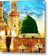 Islamic Paintings 005 Metal Print by Catf