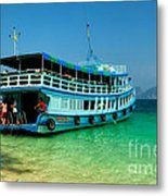 Island Ferry  Metal Print by Adrian Evans