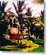 Island Paradise Metal Print by CHAZ Daugherty