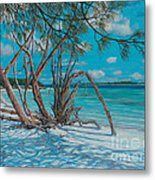 Island Time Metal Print by Danielle  Perry