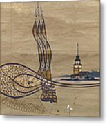 Istanbul Metal Print by Ayhan Altun