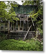 It Was Once Christmas Here Metal Print by Gary Heller