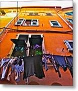 Italian Laundry Metal Print by Mark Prescott Crannell