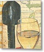 Italian Wine And Grapes 1 Metal Print by Debbie DeWitt