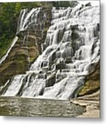 Ithaca Falls Metal Print by Anthony Sacco