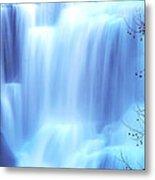 Ithaca Water Falls New York  Metal Print by Paul Ge