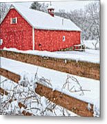 It's Snowing Metal Print by Bill Wakeley