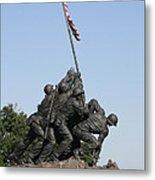 Iwo Jima Memorial - 12121 Metal Print by DC Photographer