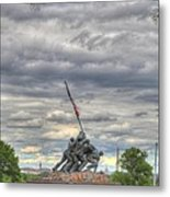 Iwo Jima Memorial - Washington Dc - 01131 Metal Print by DC Photographer