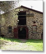 Jack London Sherry Barn 5d22070 Metal Print by Wingsdomain Art and Photography