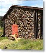 Jack London Stallion Barn 5d22104 Metal Print by Wingsdomain Art and Photography