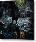 Jack The Ripper Metal Print by Alessandro Della Pietra