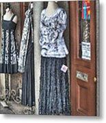 Jackson Square Fashion Metal Print by Brenda Bryant