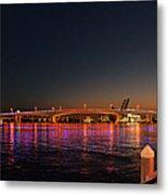 Jacksonville Acosta Bridge Metal Print by Christine Till