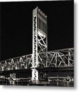 Jacksonville Florida Main Street Bridge Metal Print by Christine Till