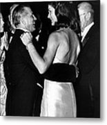Jacqueline Kennedy Dancing Metal Print by Retro Images Archive