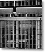 Jail Cells Metal Print by Benjamin Yeager
