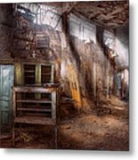 Jail - Eastern State Penitentiary - Sick Bay Metal Print by Mike Savad