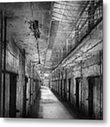 Jail - Eastern State Penitentiary - The Forgotten Ones  Metal Print by Mike Savad