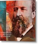 James A. Garfield Metal Print by Corporate Art Task Force