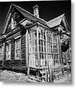 James Cain House Metal Print by Cat Connor
