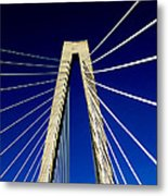 Jazz Of Charleston  Metal Print by Karen Wiles