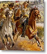 Jeb Stuart Civil War Metal Print by Henry Alexander Ogden