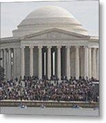 Jefferson Memorial - Washington Dc - 01134 Metal Print by DC Photographer