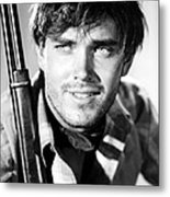 Jeffrey Hunter In The Searchers Metal Print by Silver Screen