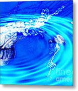 Jellyfish Pool Metal Print by Methune Hively