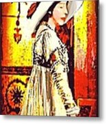 Jersey Lil Langtry Metal Print by Larry Lamb