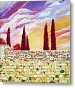 Jerusalem Prayers Metal Print by Dawnstarstudios