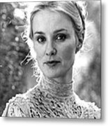 Jessica Lange In Frances  Metal Print by Silver Screen