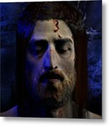 Jesus In Death Metal Print by Ray Downing