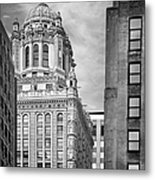 Jewelers' Building - 35 East Wacker Chicago Metal Print by Christine Till