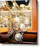 Jewelry Collections Metal Print by Ester  Rogers