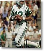 Joe Namath Metal Print by Paint Splat