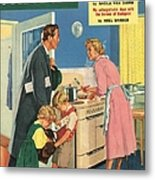 John Bull 1957 1950s Uk Cooking Metal Print by The Advertising Archives