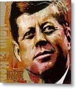 John F. Kennedy Metal Print by Corporate Art Task Force